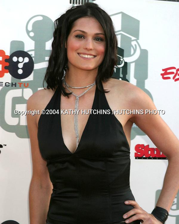 ©2004 KATHY HUTCHINS /HUTCHINS PHOTO.G-PHORIA  - The Award Show 4 Gamers.LOS ANGELES, CA.JULY 31, 2004..MORGAN WEBB