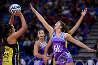 Stars&rsquo; Kate Burley in action during the ANZ Premiership - Pulse v Northern Stars at Te Rauparaha Arena, Porirua, New Zealand on Monday 25 June 2018.<br /> Photo by Masanori Udagawa. <br /> www.photowellington.photoshelter.com