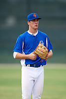 Mason Denaburg (23) while playing for Central Florida Gators based out of Altamonte Springs, Florida during the WWBA World Championship at the Roger Dean Complex on October 22, 2017 in Jupiter, Florida.  Mason Denaburg (23) is a catcher / pitcher from Merritt Island, Florida who attends Merritt Island High School.  (Mike Janes/Four Seam Images)