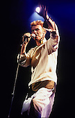 DAVID BOWIE - performing live on the Earthling Tour at the Parc des Princes in Paris France - 14 June 1997.  Photo credit:  CISFR/Dalle/IconicPix  **UK ONLY**