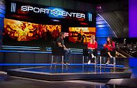 Los Angeles, CA - August 1, 2017: Members of the USWNT visit ESPN.