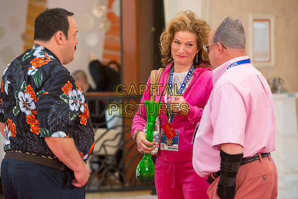 Kevin James, Ana Gasteyer, Gary Valentine<br /> in Paul Blart: Mall Cop 2 (2015) <br /> *Filmstill - Editorial Use Only*<br /> CAP/FB<br /> Image supplied by Capital Pictures