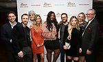 Jonathan Tessero, Peter Hollens, Danny Aiello, Candice Glover, Kaitlyn Bristowe, Josh Kaufman, Bianca Ryan, Evynne Hollens and Michael J. Guccione attends the Broadway Opening Night after party for  'Home for the Holidays - The Broadway Concert Celebration' at the Copacabana in New York City.