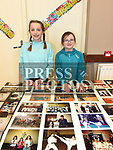 Dearbhaile and Kaiya Nulty at the Drogheda School of Karate at their photo exhibition celebrating 50 years in existence.  Photo:Colin Bell/pressphotos.ie