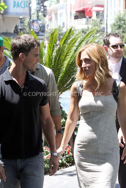WWW.ACEPIXS.COM....August 13, 2012, Los Angeles, CA.....Actors Sasha Alexander and Colin Egglesfield at The Grove on August 13, 2012  in Los Angeles, CA .........By Line: Zelig Shaul/ACE Pictures....ACE Pictures, Inc..Tel: 646 769 0430..Email: info@acepixs.com