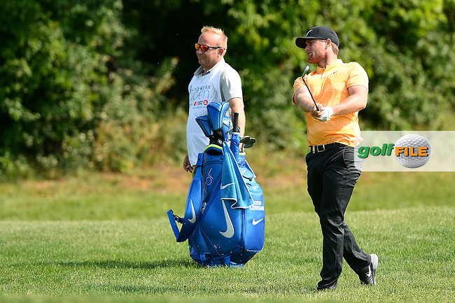 Lucas Bjerregaard of Denmark during Round 2 of the Lyoness Open, Diamond Country Club, Atzenbrugg, Austria. 10/06/2016<br /> Picture: Richard Martin-Roberts / Golffile<br /> <br /> All photos usage must carry mandatory copyright credit (&copy; Golffile | Richard Martin- Roberts)