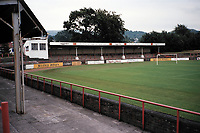 General view of Dumbarton FC Football Ground, Boghead Park, Dumbarton, Scotland, pictured on 11th August 1998