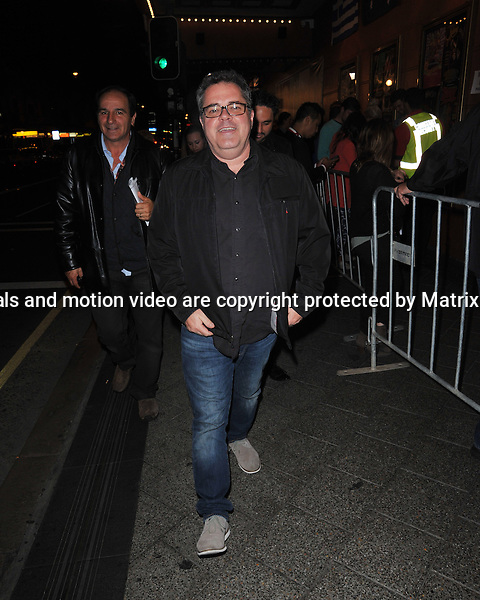 19TH JUNE 2014 SYDNEY AUSTRALIA<br /> <br /> EXCLUSIVE <br /> <br /> Pictured, Guests of Coldplay arriving at the Enmore Theater for a 500 ticket concert.<br /> <br /> *No internet without clearance*.MUST CALL PRIOR TO USE +61 2 9211-1088. Matrix Media Group.Note: All editorial images subject to the following: For editorial use only. Additional clearance required for commercial, wireless, internet or promotional use.Images may not be altered or modified. Matrix Media Group makes no representations or warranties regarding names, trademarks or logos appearing in the images.