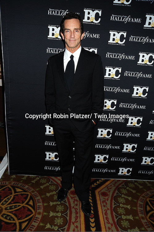 Jeff Probst attends the 2011 Broadcasting & Cable Hall of Fame Awards on October 26, 2011 at the Waldorf Astoria Hotel in New York City.