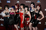 "LOS ANGELES, CA. - October 18: Suicide Girls arrive at the Spike TV's ""Scream 2008"" Awards at The Greek Theater on October 18, 2008 in Los Angeles, California."