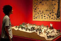 Fortaleza_CE, Brasil...Maquete de Fortaleza no Museu do Ceara...The Fortaleza model in Museum of Ceara...Foto: BRUNO MAGALHAES / NITRO