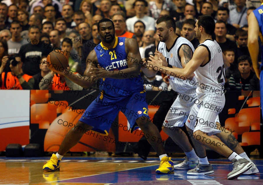 Schortsanitis Sofoklis, Euroleague basketball game Partizan - Maccabi Electra in Belgrade, Serbia, Thursday December 01,  2011.  (photo: Pedja Milosavljevic)