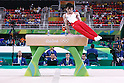Kohei Uchimura (JPN), <br /> AUGUST 6, 2016 - Artistic Gymnastics : <br /> Men's Qualification <br /> Pommel Horse <br /> at Rio Olympic Arena <br /> during the Rio 2016 Olympic Games in Rio de Janeiro, Brazil. <br /> (Photo by Sho Tamura/AFLO SPORT)