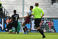 Raheem Sterling of Manchester City scores the second Goal and celebrates during West Ham United vs Manchester City, Premier League Football at The London Stadium on 10th August 2019
