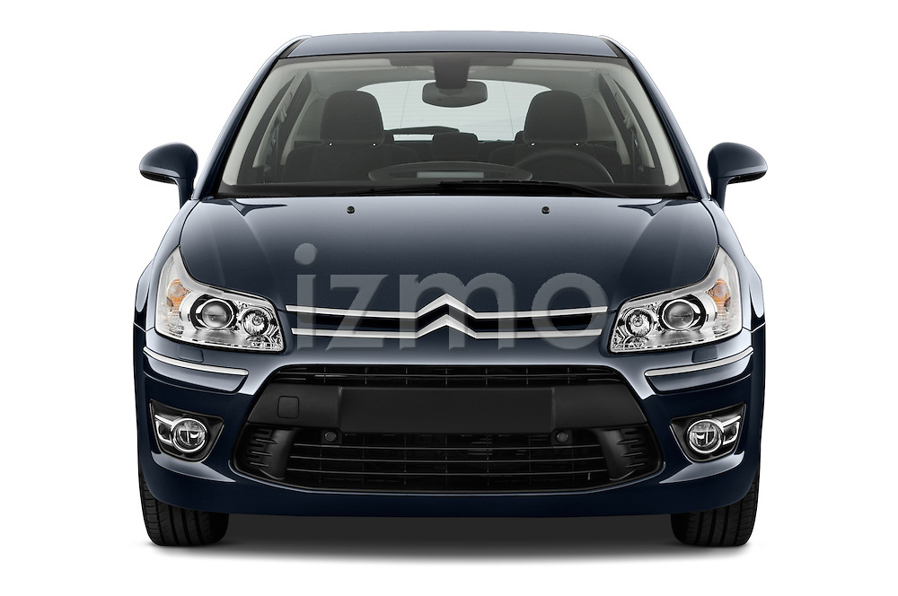 Straight front view of a 2010 Citroen C4 Millenium 5 Door Hatchback 2WD