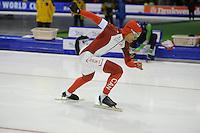 SCHAATSEN: HEERENVEEN: IJsstadion Thialf, 07-02-15, World Cup, 500m Men Division A, Gilmore Junio (CAN), ©foto Martin de Jong
