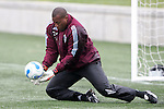 6 April 2007: Zach Thornton. DC United and the Colorado Rapids trained on the practice fields at Dick's Sporting Goods Park in Denver, Colorado, in preparation for the season opener to be played Saturday, April 7.