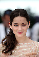 .../Actress Marion Cotillard poses at the 'De Rouille et D'os' Photocall during the 65th Annual Cannes Film Festival at Palais des Festivals on May 17, 2012 in Cannes, France.  .. Credit: Palme2012/ News Pictures/MediaPunch Inc. ***FOR USA ONLY***