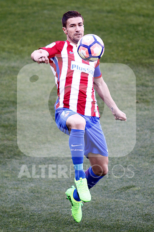 Atletico de Madrid's Gabi Fernandez during La Liga match. March 19,2017. (ALTERPHOTOS/Acero)