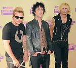 Greenday at The 2012 MTV Video Music Awards held at Staples Center in Los Angeles, California on September 06,2012                                                                   Copyright 2012  DVS / Hollywood Press Agency
