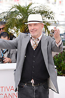 "Jacques Audiard attending the ""De Rouille Et D'os"" Photocall during the 65th annual International Cannes Film Festival in Cannes, 17th May 2012..Credit: Timm/face to face /MediaPunch Inc. ***FOR USA ONLY***"