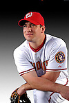 25 February 2007: Washington Nationals outfielder Michael Restovich poses for his Photo Day portrait at Space Coast Stadium in Viera, Florida.<br /> <br /> Mandatory Photo Credit: Ed Wolfstein Photo<br /> <br /> Note: This image is available in a RAW (NEF) File Format - contact Photographer.