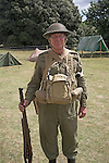 Home Guard soldier at Living History event.