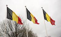all belgian podium<br /> <br /> 2014 UCI cyclo-cross World Championships