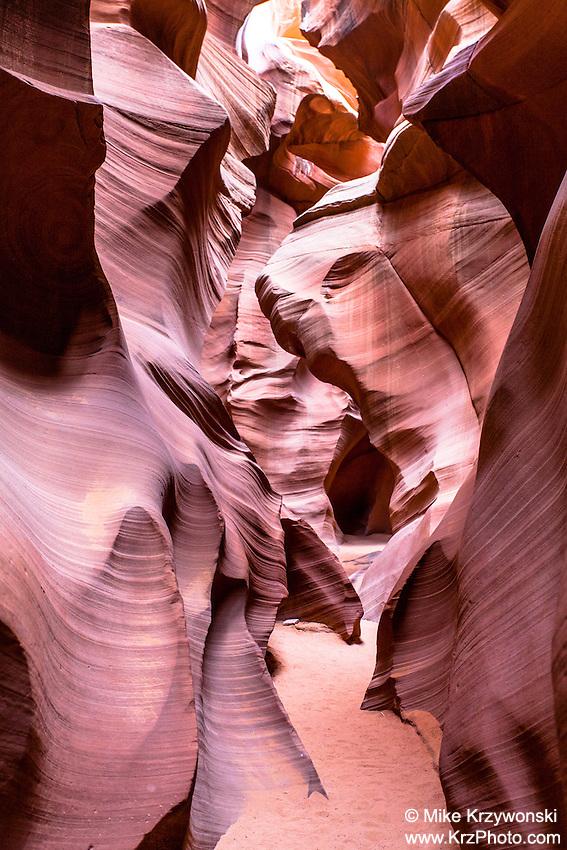 """Lower Antelope Canyon aka """"Corkscrew Canyon"""" near Page, AZ"""