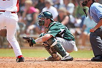Michigan State Spartans catcher Will Salter (11) during a game against the Illinois State Redbirds on March 8, 2016 at North Charlotte Regional Park in Port Charlotte, Florida.  Michigan State defeated Illinois State 15-0.  (Mike Janes/Four Seam Images)