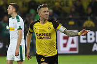 (181222) -- DORTMUND, Dec. 22, 2018 (Xinhua) -- Marco Reus of Dortmund celebrates after scoring during the Bundesliga match between Borussia Dortmund and Borussia Moenchengladbach in Dortmund, Germany, Dec. 21, 2018. Dortmund won 2-1. (Xinhua/Joachim Bywaletz) (SP)GERMANY-DORTMUND-BUNDESLIGA-DORTMUND VS MOENCHENGLADBACH PUBLICATIONxNOTxINxCHN  <br /> Foto Imago/Insidefoto