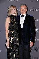 04 November  2017 - Los Angeles, California - Willow Bay, Bob Iger. 2017 LACMA Art+Film Gala held at LACMA in Los Angeles. <br /> CAP/ADM/BT<br /> &copy;BT/ADM/Capital Pictures