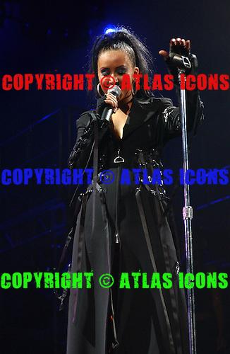 CHRISTINA AGUILERA, Live, In New York City, 2003.Photo Credit: Eddie Malluk/Atlas Icons.com
