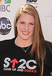 LOS ANGELES, CA - SEPTEMBER 07: Missy Franklin arrives at Stand Up To Cancer at The Shrine Auditorium on September 7, 2012 in Los Angeles, California.