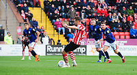 Lincoln City's Lee Frecklington misses a second half penalty<br /> <br /> Photographer Chris Vaughan/CameraSport<br /> <br /> The EFL Sky Bet League Two - Lincoln City v Crewe Alexandra - Saturday 6th October 2018 - Sincil Bank - Lincoln<br /> <br /> World Copyright &copy; 2018 CameraSport. All rights reserved. 43 Linden Ave. Countesthorpe. Leicester. England. LE8 5PG - Tel: +44 (0) 116 277 4147 - admin@camerasport.com - www.camerasport.com