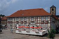 Deutschland, Thüringen, alte Posthalterei in Creuzburg