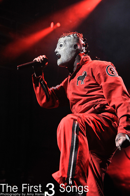 Corey Taylor of Slipknot performs at the 2012 Rockstar Energy Drink Mayhem Festival at Riverbend Music Center in Cincinnati, Ohio.