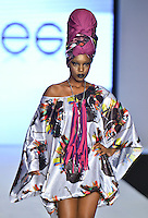 Lisu Vega at Miami Beach International Fashion Week 2012