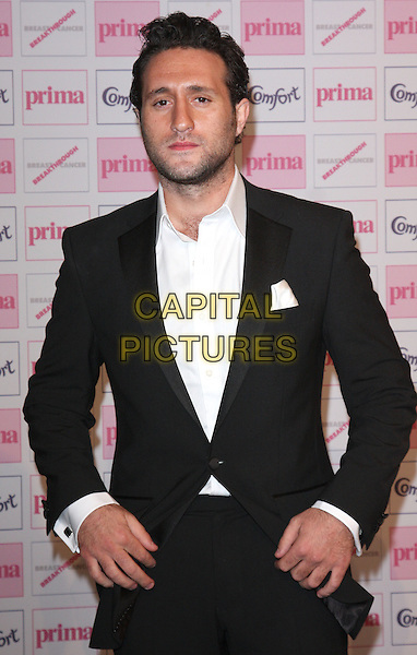 ANTONY COSTA .Comfort Prima High Street Fashion Awards 2010 at Battersea Evolution, London, England, September 9th 2010.half length black suit white shirt beard facial hair .CAP/ROS.©Steve Ross/Capital Pictures