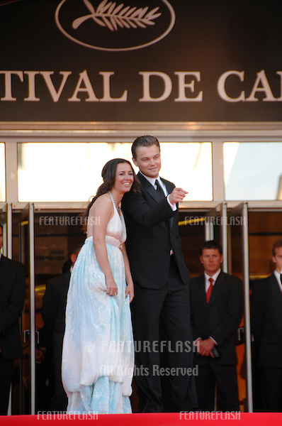 """Leonardo DiCaprio & Leila Connors Petersen & Nadia Connors at screening for """"No Country for Old Men"""" at the 60th Annual International Film Festival de Cannes. .May 19, 2007  Cannes, France..© 2007 Paul Smith / Featureflash"""