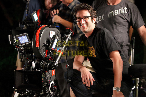 Director Josh Schwartz .on the set of Fun Size (2012) .*Filmstill - Editorial Use Only*.CAP/FB.Supplied by Capital Pictures.