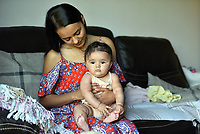 Pictured: Cherelle Farrugia, aged 25, with her daughter, Willow, aged 6 months.<br />