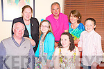 Jim Glancey, Milltown and Helen Phelan, Castlemaine pictured with Breda Glancey, Katie, Martin, Catherine and Dan Phelan as they celebrated their birthdays in Lord Kenmares restaurant, Killarney on Friday night.