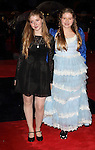 Bebe Cave and Jessie Cave  at the  BFI London Film Festival Closing Gala 'Great Expectations' at the.. Odeon Leicester Square, London - October 21st 2012 Picture By: Brian Jordan / Retna Pictures.. ..-..