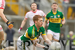 Pa Kilkenny, Kerry in action against   Tyrone in the fourth round of the National Football league at Fitzgerald Stadium, Killarney on Sunday.