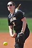 Lindsay Mapes #11, Adelphi pitcher, delivers to the plate in the bottom of the fourth inning of Game 2 of the NCAA Division II East Super Regional against Southern New Hampshire University at Adelphi University on Thursday, May 12, 2016. Adelphi won 4-1 to sweep the best-of-three series.