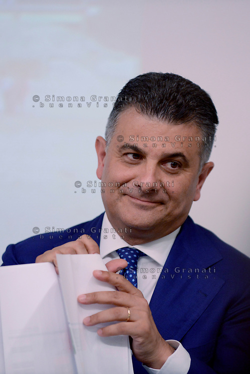 Roma,18 Luglio 2017<br /> Vito De Filippo<br /> &ldquo;Edilizia Scolastica 2014- 2018&quot;: conferenza stampa a Palazzo Chigi
