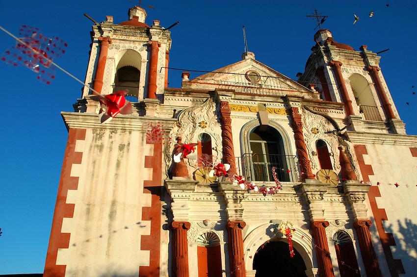 "..""The 18th Century church at Santa Ana del Valle"""