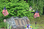 Veteran's Memorial, Acton, Maine, USA