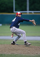 July 28th 2007:  Evan Crawford during the Cape Cod League All-Star Game at Spillane Field in Wareham, MA.  Photo by Mike Janes/Four Seam Images